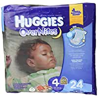Huggies Overnites Diapers, Size 4, 24 ct