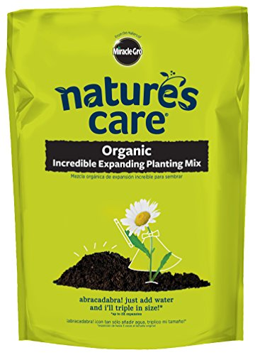Potting Scotts Soil (Nature's Care Incredible Expanding Potting Soil 0.67 CF)