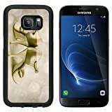 MSD Premium Samsung Galaxy S7 Aluminum Backplate Bumper Snap Case Argentine tango stilettos on abstracrt background Image ID 27287897