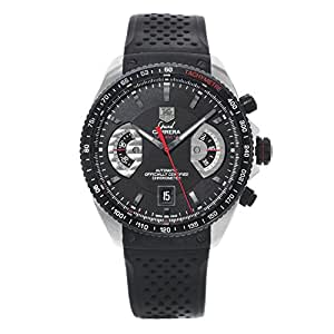 Tag Heuer Grand Carrera Automatic-self-Wind Male Watch (Certified Pre-Owned)