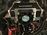 Harley batwing complete amplifier Mounting, Cooling, and wiring kit for rockford fosgate pbr300x2 pbr300x4