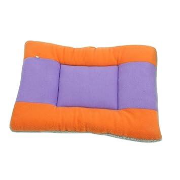 TODAYTOP - Cama para Perros Grande, colchón para Perros, Doble Cara, Tres Colores, cojín cálido, 50 x 40 cm: Amazon.es: Hogar