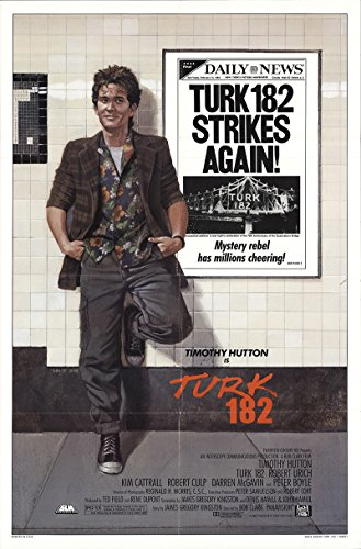 Turk 182 1985 Authentic 27  X 41  Original Movie Poster Very Fine Robert Culp Drama U S  One Sheet