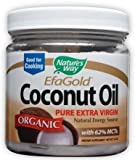 Cheap Nature's Way Organic Extra Virgin Coconut Oil, 16 Ounce (Value Pack of 3) [Item #28766]
