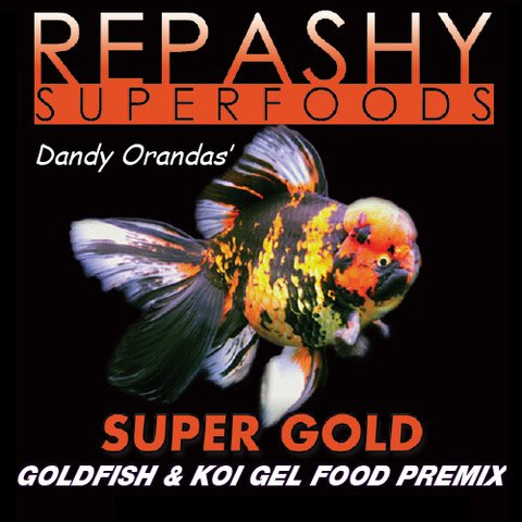 Repashy Super Gold - Goldfish and Koi Gel Food - The Most Versatile Goldfish Food