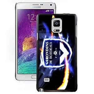 Unique DIY Designed Case For Samsung Galaxy Note 4 N910A N910T N910P N910V N910R4 With Soccer Club Girondins De Bordeaux 01 Football Logo Cell Phone Case