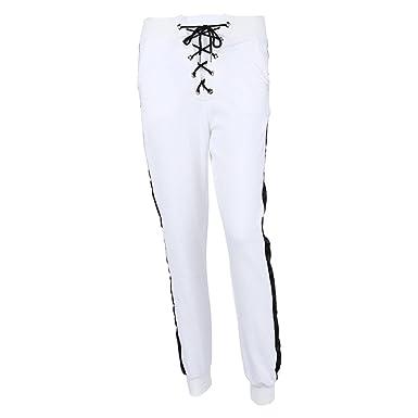 Femmes Pantalon les pantalons de survêtement Joggers Un pantalon - Dames Bas  Loisir Joggings Décontractée sport 74e7c4a4112b