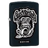 Zippo Gas Monkey Garage Pocket Lighter, Black Matte