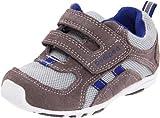 pediped Flex Hayden Sneaker (Toddler/Little Kid),Grey/Blue,26 EU (9-9.5 M US Toddler)