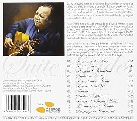 Suite Gades, Sueño de Libertad: Paco Cepero: Amazon.es: Música