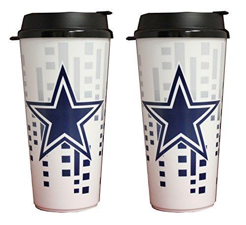 NFL Dallas Cowboys 32oz Single Wall Travel Mug 2 pack