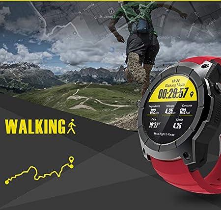 WCPZJS Smart Watch GPS S958 Smartwatch Monitor de Ritmo ...