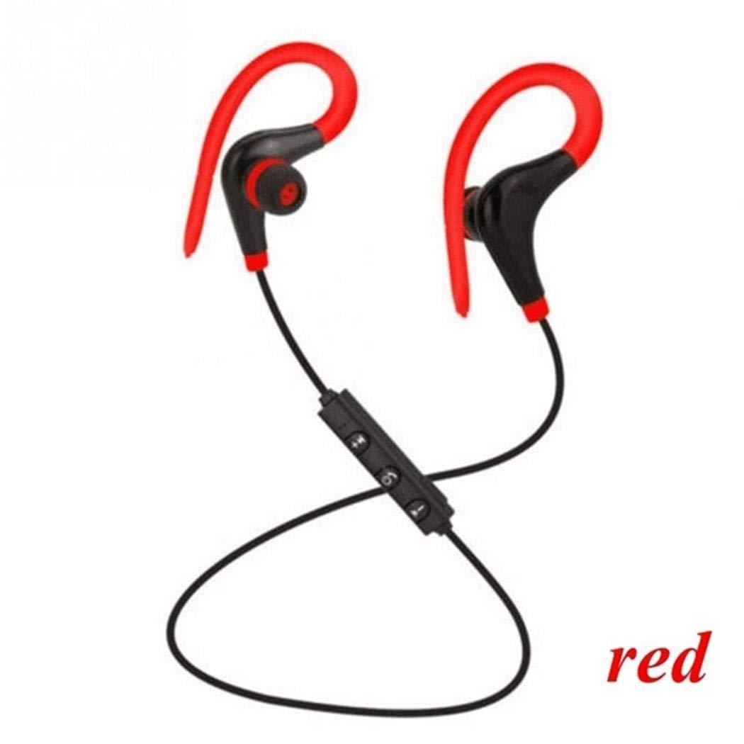 gonikm Wireless Fashion Bluetooth Earphone Sports Earhook Stereo Earphone Earbud Headphones