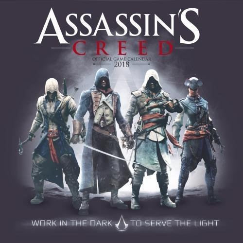 Assassin's Creed Game Official 2018 Calendar - Square Wall Format
