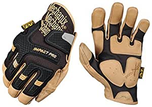 Mechanix Wear CG Leather Impact Pro Size: Small Color Black, Model: CG30–75–008, Tools & Hardware Store