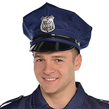 Deluxe Police Hat - Costume Accessory