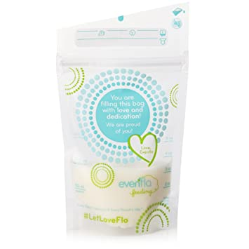 Evenflo Feeding Advanced Breastmilk Storage Bags for Breastfeeding - 5 Ounces (Pack of 20)