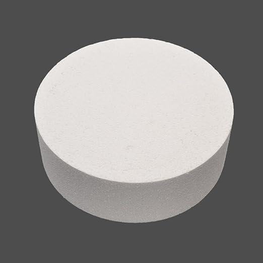 Cake Dummies Round /& Square Straight Edge Polystyrene Various Sizes