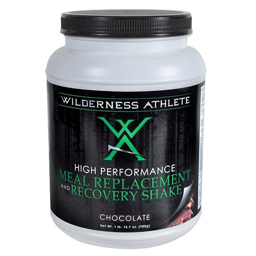 Wilderness Athlete Meal Replacement and Recovery Shake, Chocolate, 15.7 oz