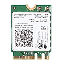 Intel Dual Band Wireless-AC 7260 7260NGW WIFI Bluetooth PCI-E Card 802.11ac Dual Band 2x2 Wi-Fi + Bluetooth 4.0