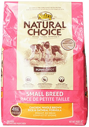 NATURAL CHOICE Small Breed Puppy Chicken, Whole Brown Rice a