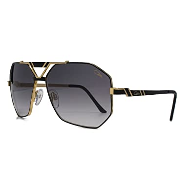 1481c474b3a Cazal 9058 lunettes de soleil aviateur en or noir 9058 001 63 63 Gradient  Grey