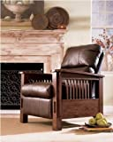 """Famous Collection"" -BrownRust ic High Recliner by ""Famous Brand"" Furniture"