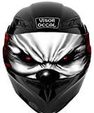 V14 Evil Clown VISOR TINT DECAL Graphic Sticker Helmet Fits: Icon Shoei...
