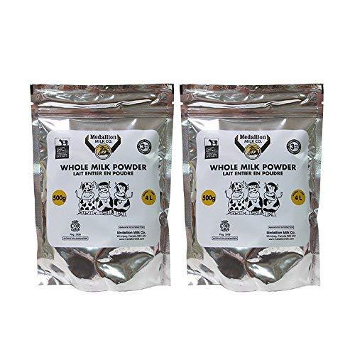 Medallion Brand Whole Milk Powder 500g 2 Packs