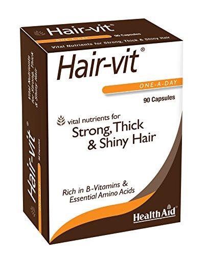 HealthAid Hair Vitamins for Hair Growth with Essential Vitamins and...