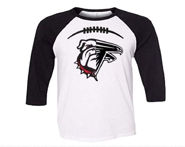 best service a80fd 7a3ec Handmade Football Shirt NFL College Football Shirt Georgia ...
