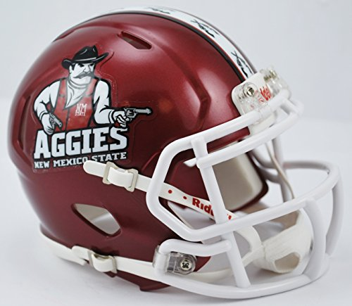 Riddell NEW MEXICO STATE AGGIES NCAA Revolution SPEED Mini Football Helmet