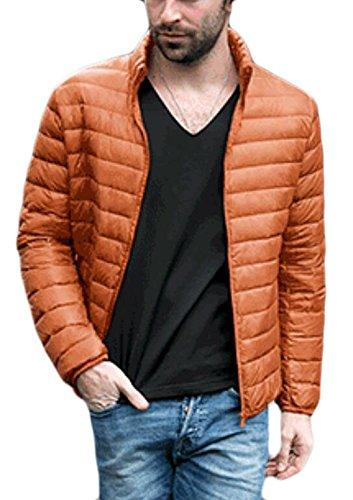 Gli Spessore Basamento M Collor S W Outwear Leggero Cappotto amp; Giù Puffer amp; 2 Uomini Packable Inverno nqAwBUqx