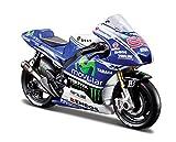 Maisto 1:18 2014 Movistar Yamaha MotoGP Diecast Motorcycle Vehicle