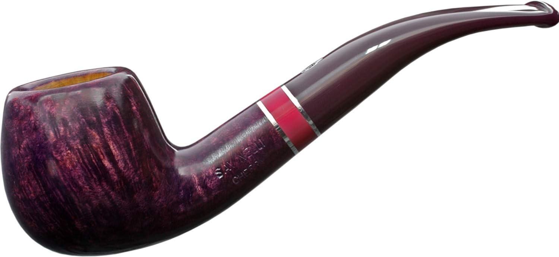 "Savinelli Cherry""Aroma"" 626 Bent Apple 9Mm Briar Pipe Pfeife Pipa"