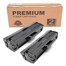 Itari Compatible Toner Cartridges replacement for Samsung MLT-D101S MLT D101S Use in SCX 3405FW 3405 3405W 3405F 3400FW 3400 3400F 3401, ML 2165w 2165 2161 2160, SF 760P 761 Printer - 2 Pack, Black