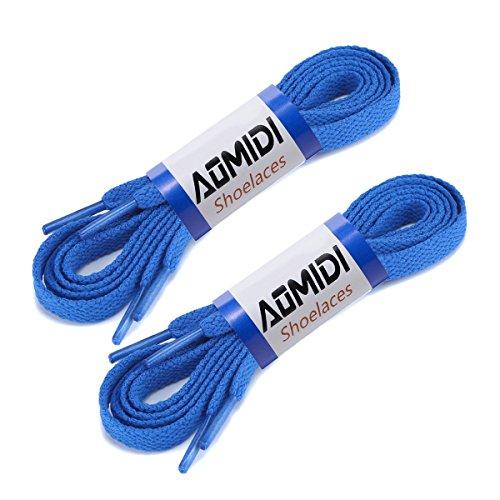 AOMIDI Flat Shoelaces 5/16