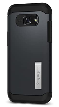 best service 7021c 06fc1 Spigen Galaxy A5 (2017) Slim Armor Case with Air Cushion Technology and  Hybrid Drop Protection for Galaxy A5 (2017) - Metal Slate