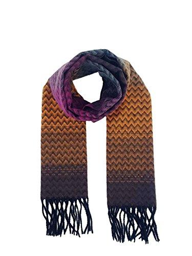 Mens Tom Franks Long Winter Scarves Check or Herringbone Pattern