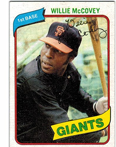 (1980 Topps San Francisco Giants Team Set with Jack Clark & 2 Willie McCovey - 27 MLB Cards )