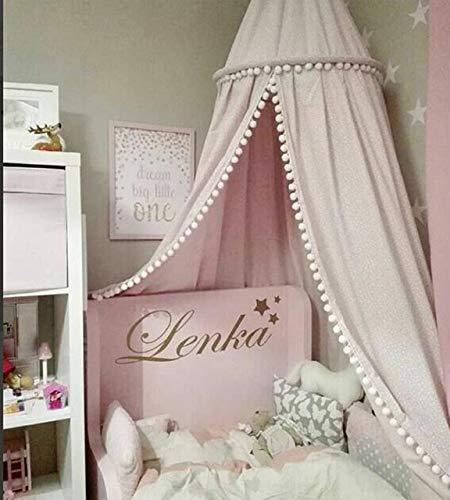Beau XuBa Cotton Baby Room Decoration Balls Mosquito Net Kids Bed Curtain Canopy  Round Crib Netting Tent
