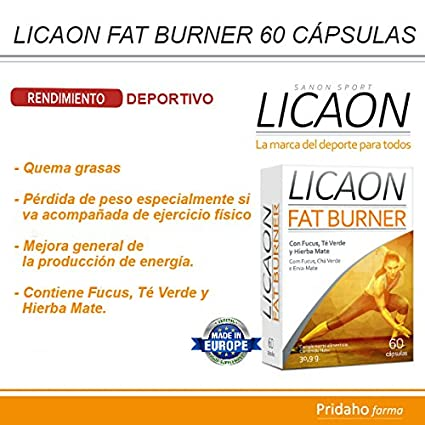 SANON - SANON SPORT LICAON Fat Burner 60 cápsulas de 515 mg