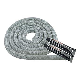 Sellado de cordón blanco para estufas, 16mm 3,0 Metre + 2x Pegamento: Amazon.es: Bricolaje y herramientas