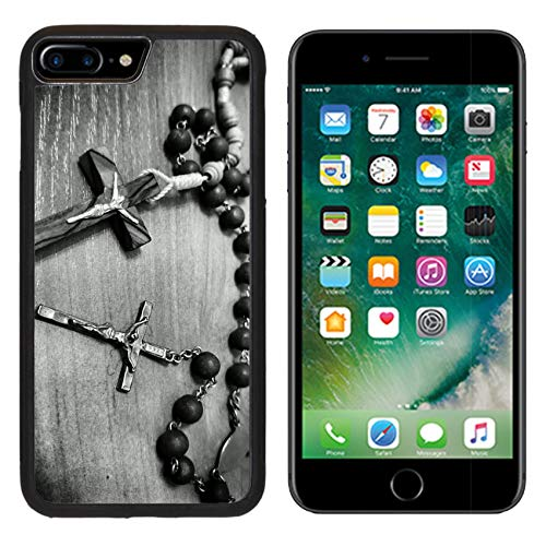 Luxlady Apple iPhone 8 Plus Case Aluminum Backplate Bumper Snap iphone8 Plus Cases Image ID: 34715702 Two Rosaries Catholic Most Important Prayer Support