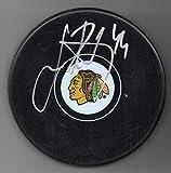 Jan Rutta Autographed Puck Chicago Blackhawks