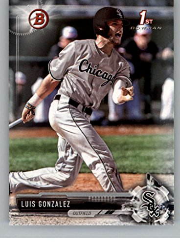 Gonzalez Luis Baseball (Baseball MLB 2017 Bowman Draft #BD-86 Luis Gonzalez White Sox)
