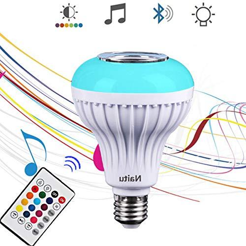 Led Light Bulb Bluetooth Speaker in US - 3