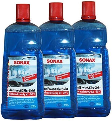 Preisjubel 12 X Sonax Antifrost Klarsicht 2l Frostschutz Scheiben Enteiser Glas Reiniger Auto