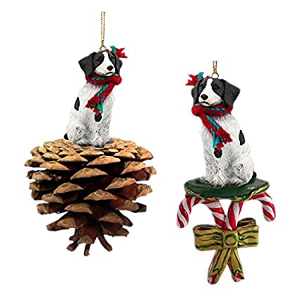 Amazoncom Liver And White Shih Tzu Tree Ornaments Home Kitchen