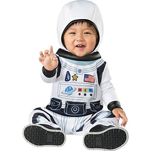 Fun World Baby Astronaut TOT Medium, Multi Color, M -